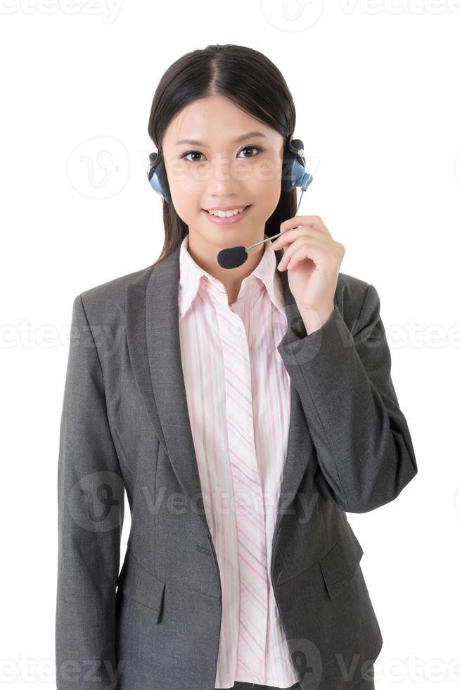 secretária asiática foto