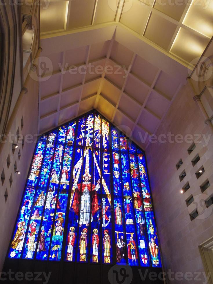 iglesia interior de hawaii foto