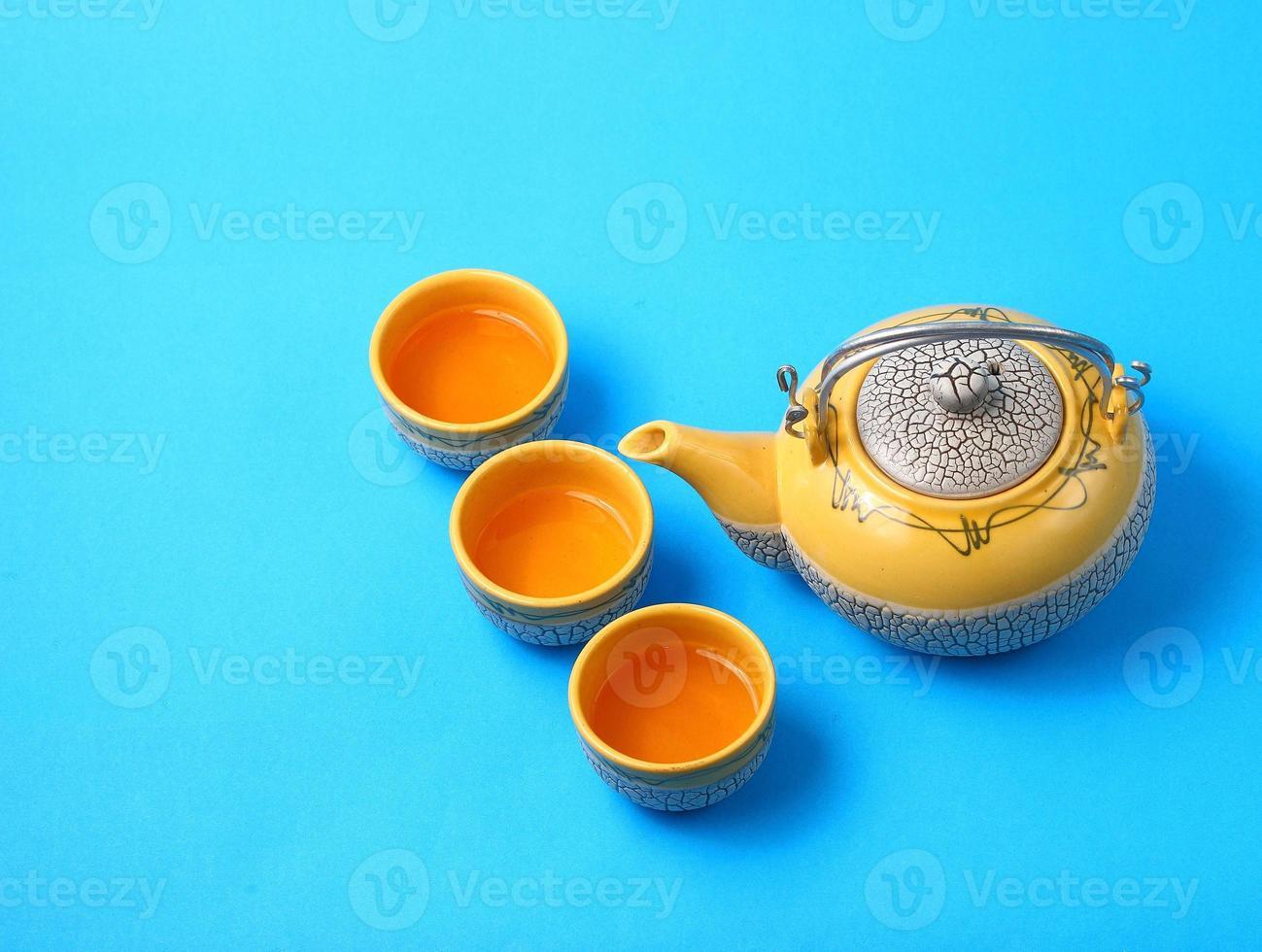 Asian tea set photo