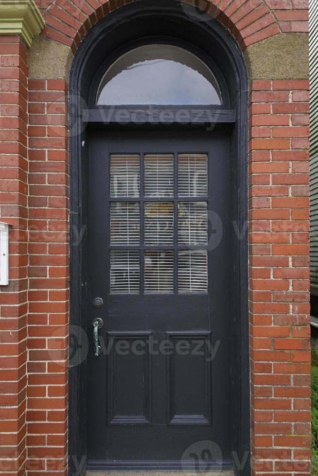 puertas de lunenburg ns, canadá foto