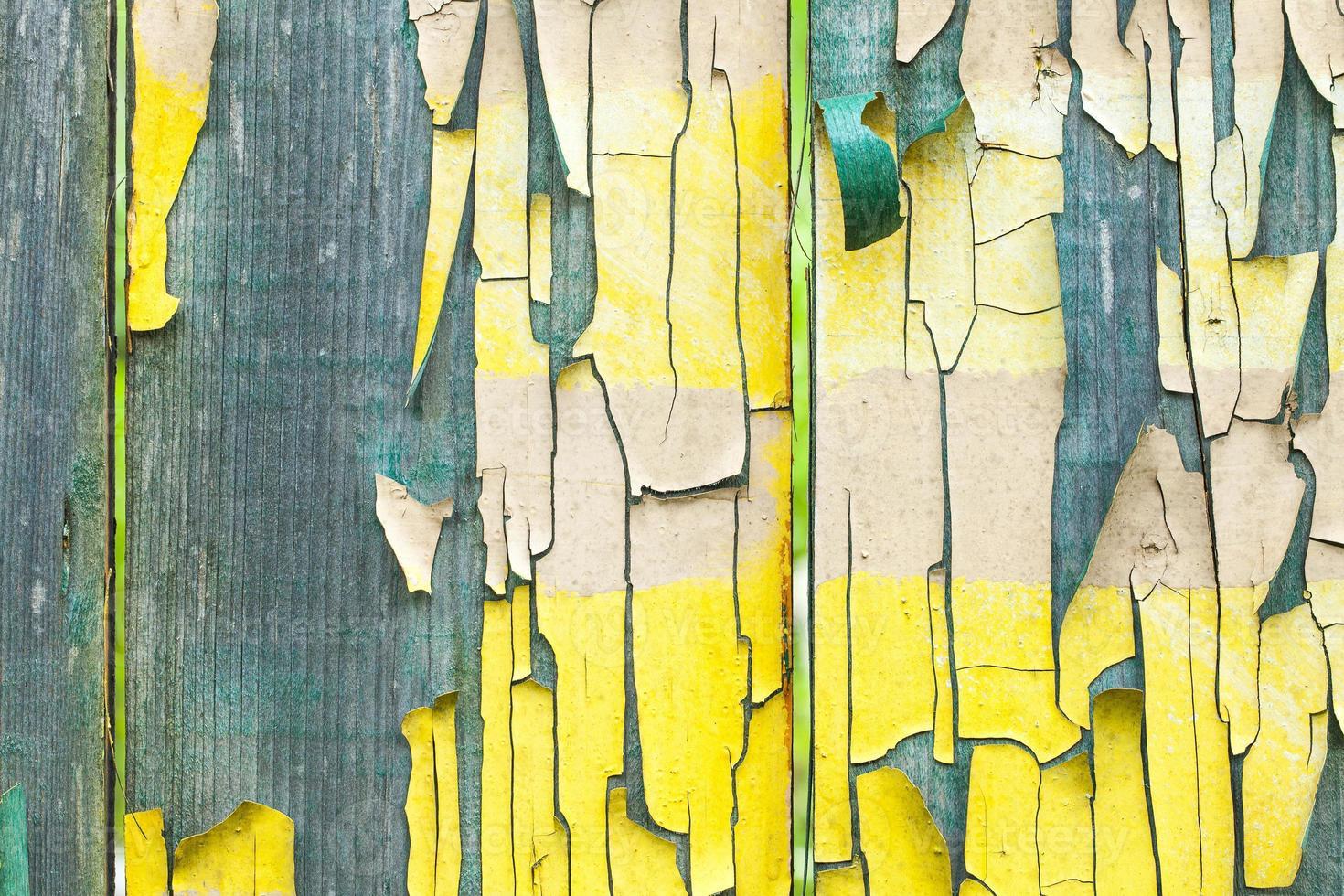 textura de paneles de madera de grunge foto