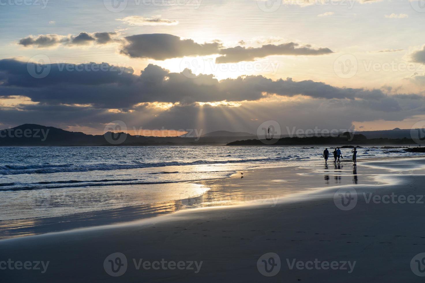 Galápagos Playa de la isla Isabel. foto