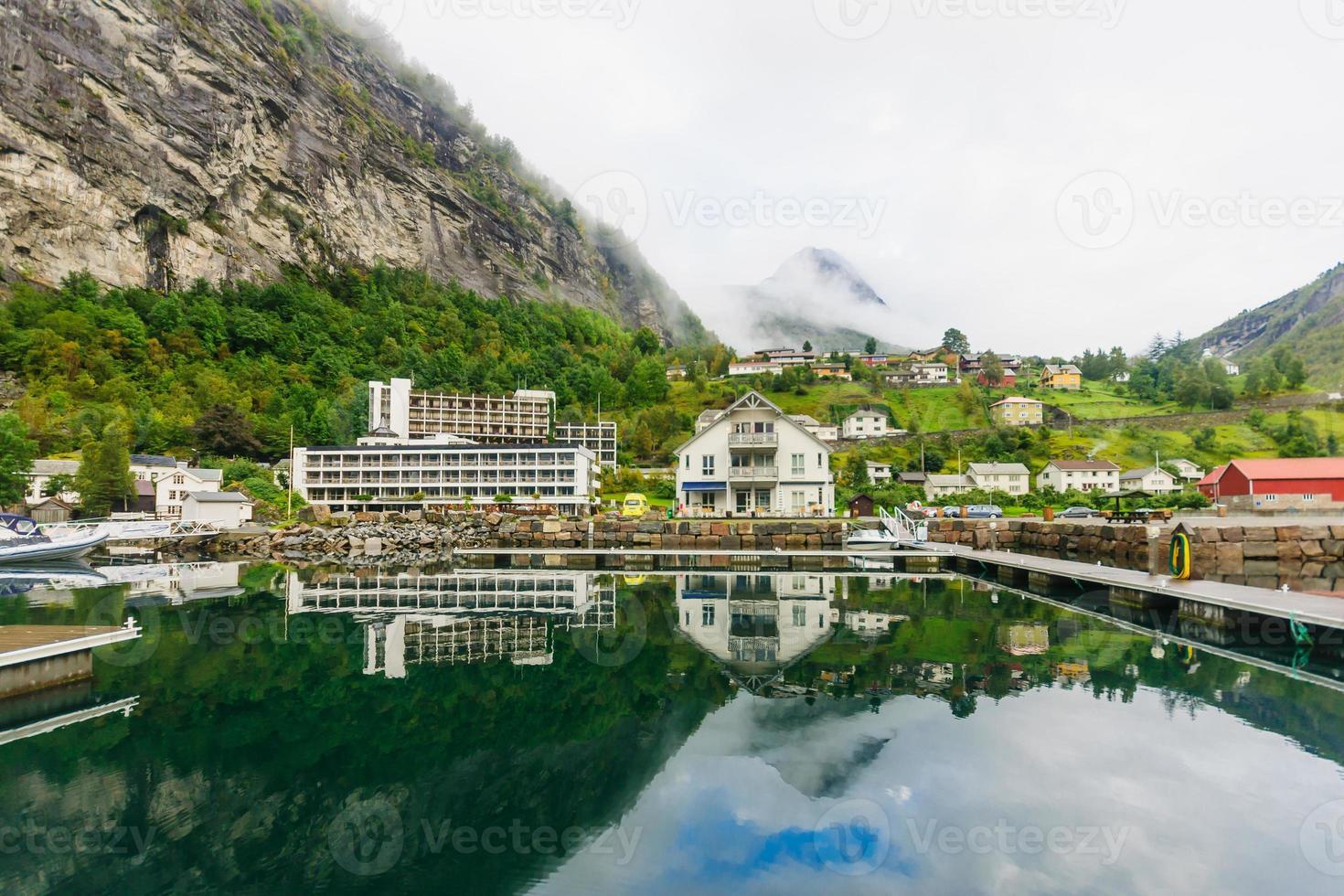 Geiranger fjord photo