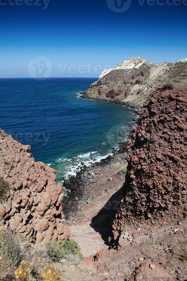 Thira Fira Perissa Oia Ammoudi Thirassia  Greece island cyclades photo