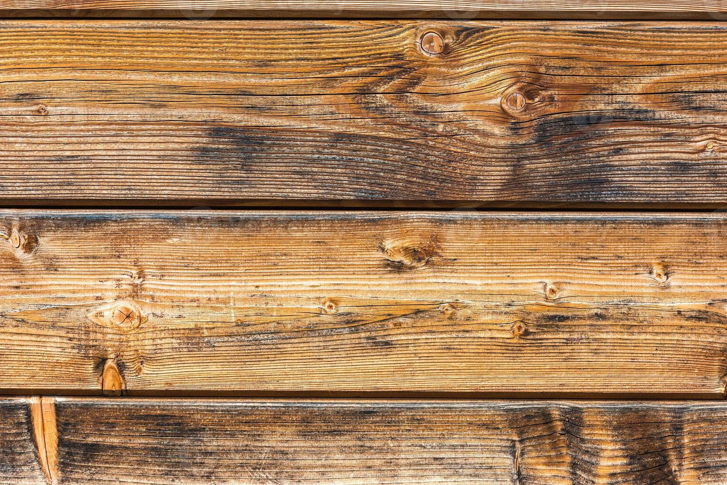 Old wooden plank surface background photo