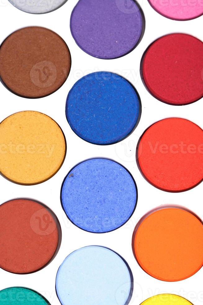 Paints - close up photo