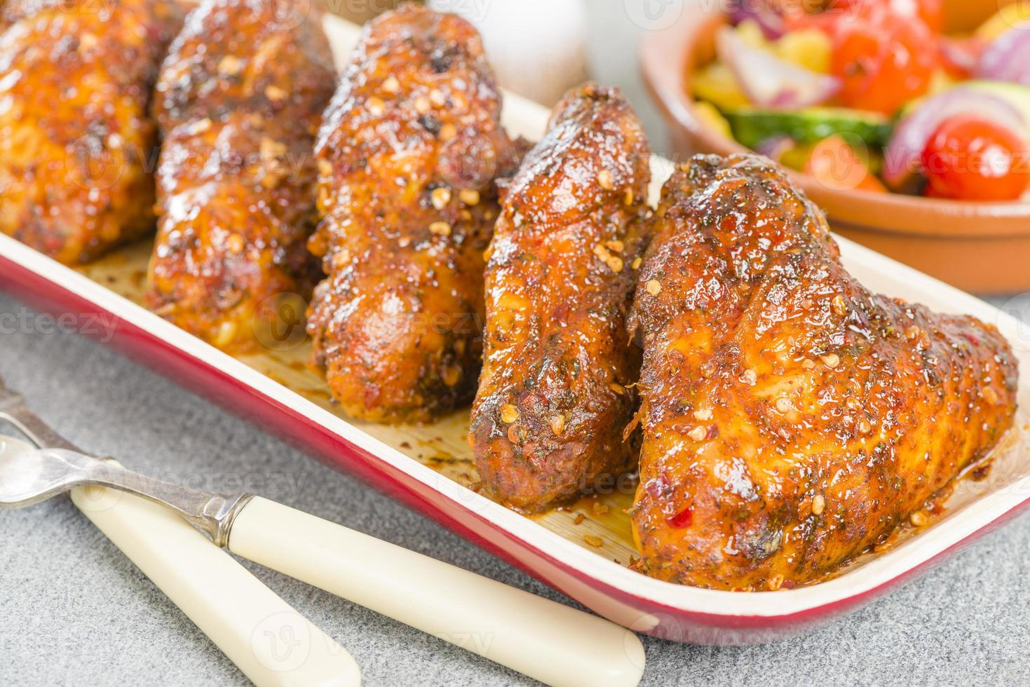 Spicy Hot Chicken Wings photo