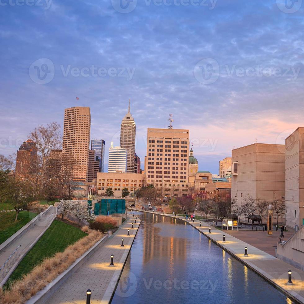 Downtown Indianapolis skyline photo