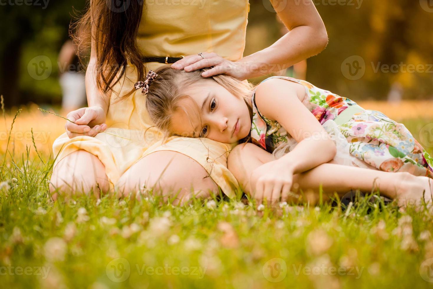 Worries of childhood photo