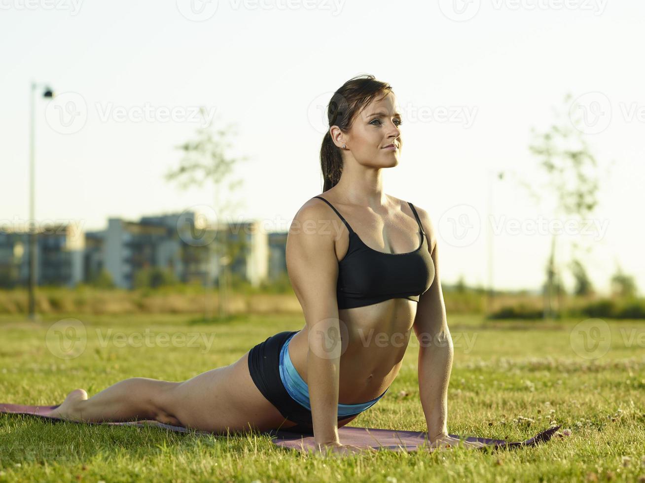 Fitness woman photo