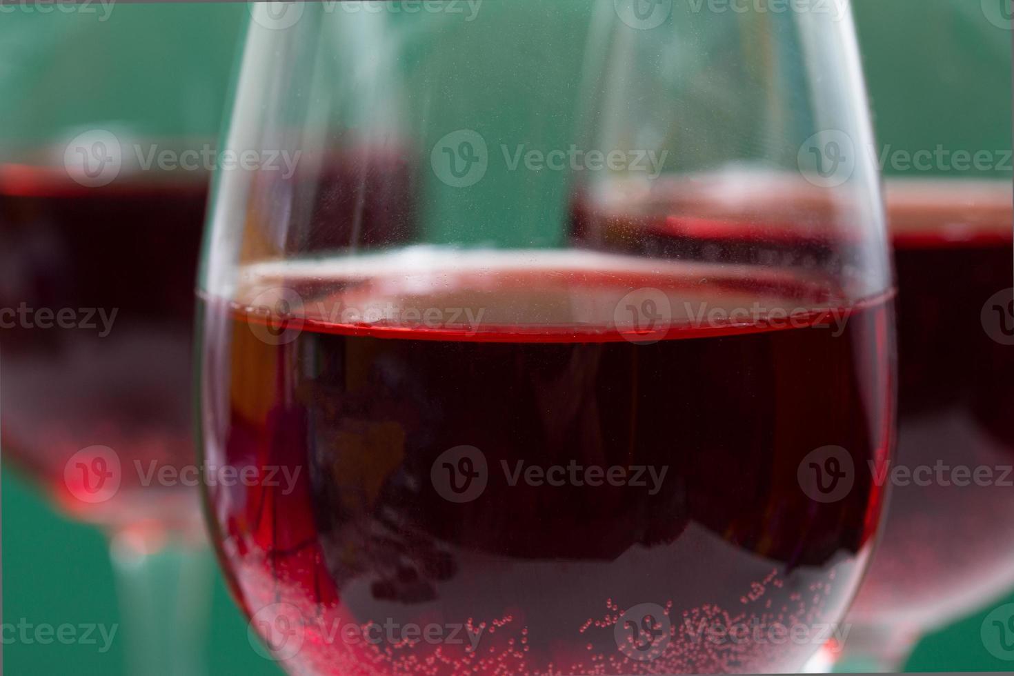 vasos quejumbrosos rojos foto