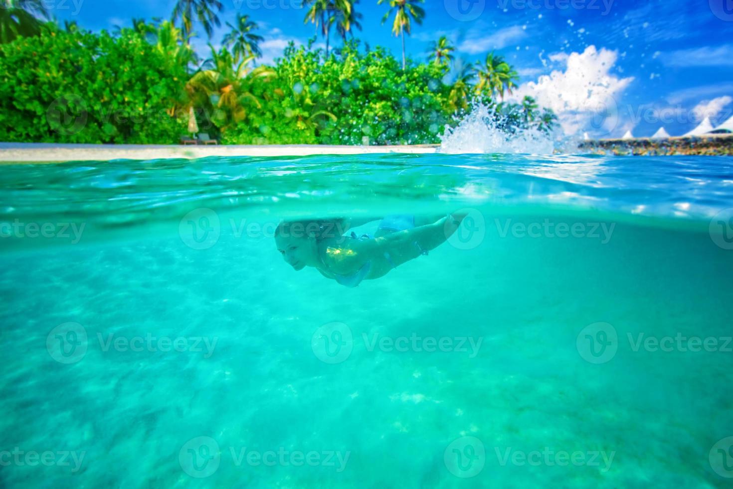 Enjoying marine life photo