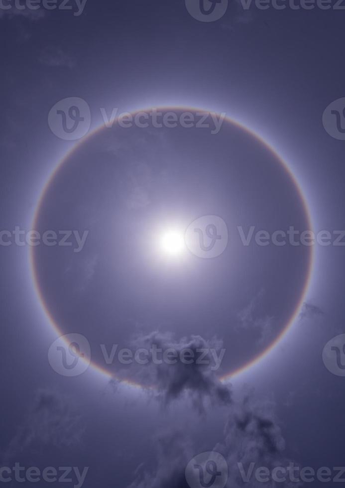 halo de sol foto