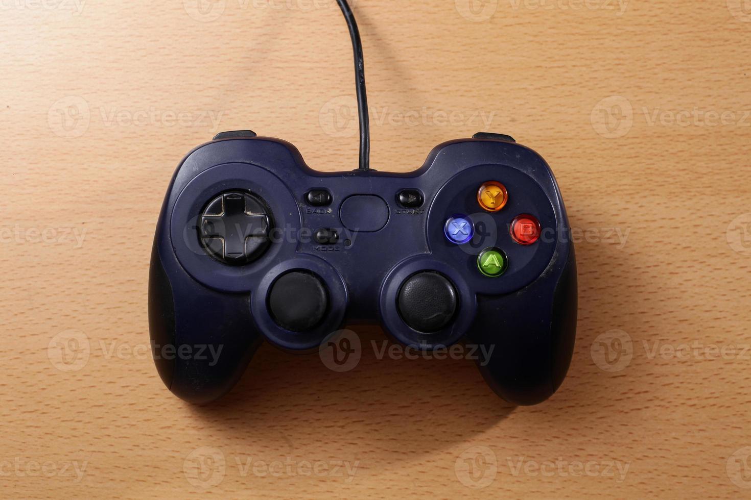 blue Gamepad for gamer photo