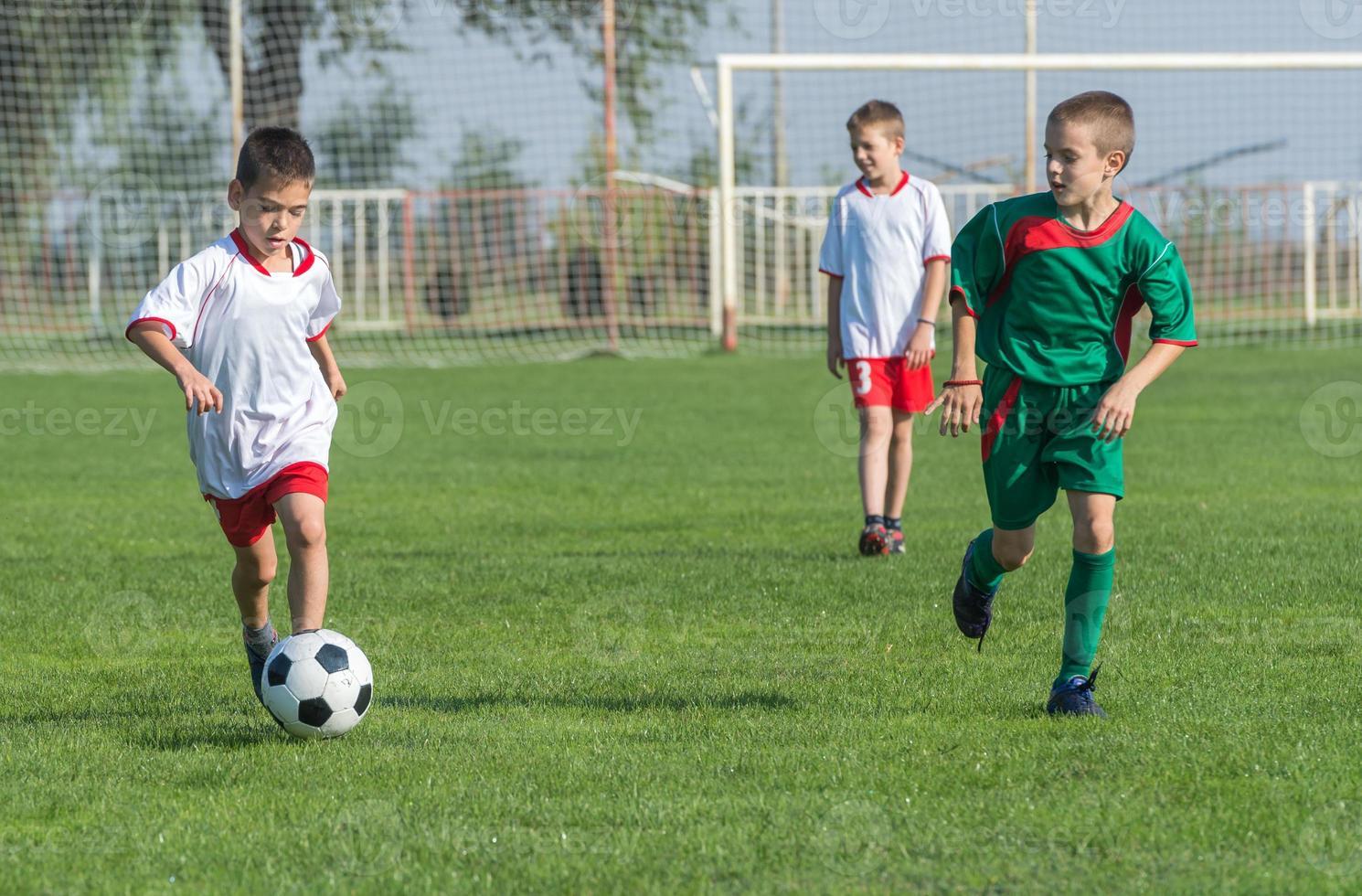 fútbol para niños foto