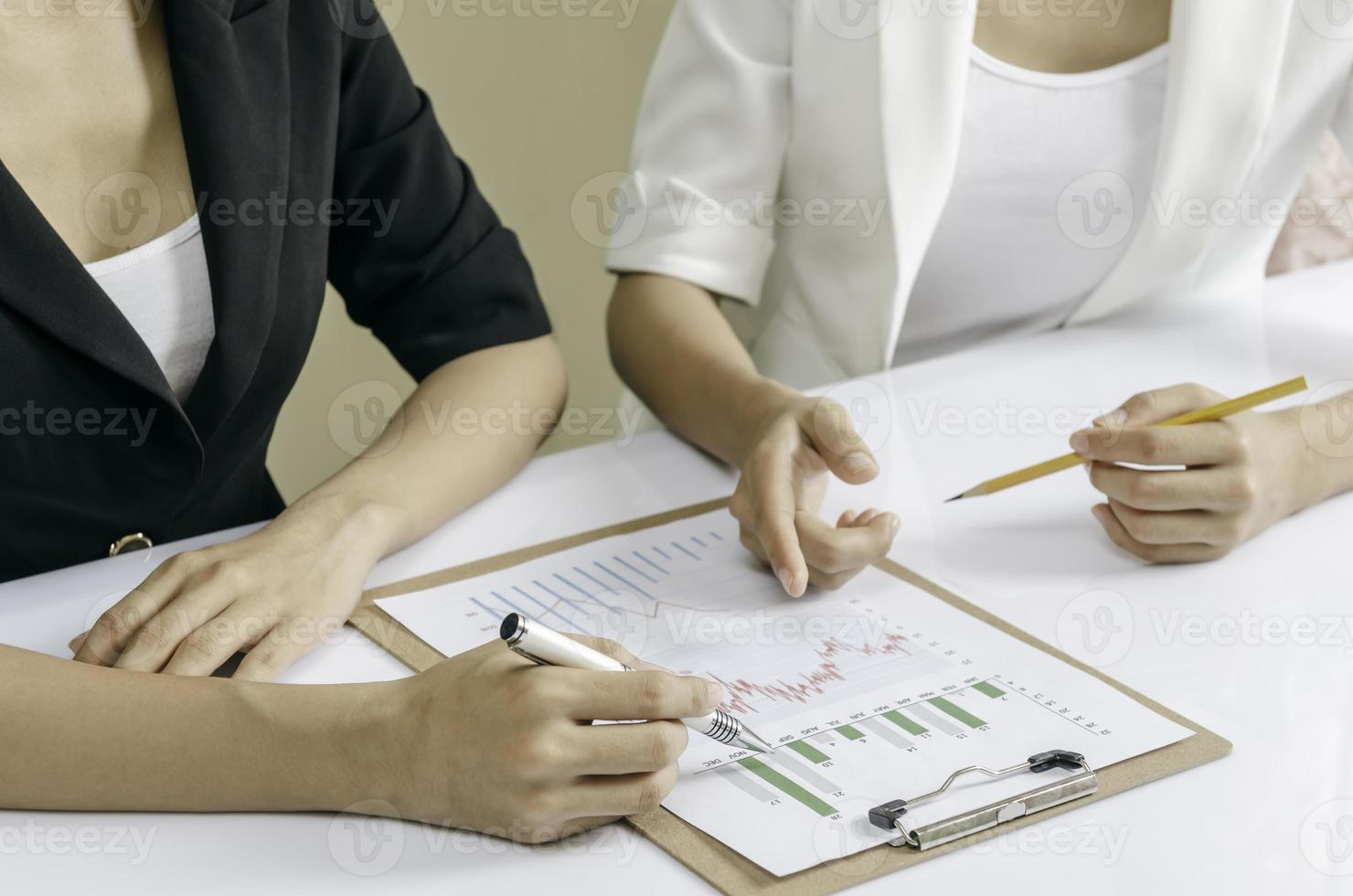 financial meeting photo