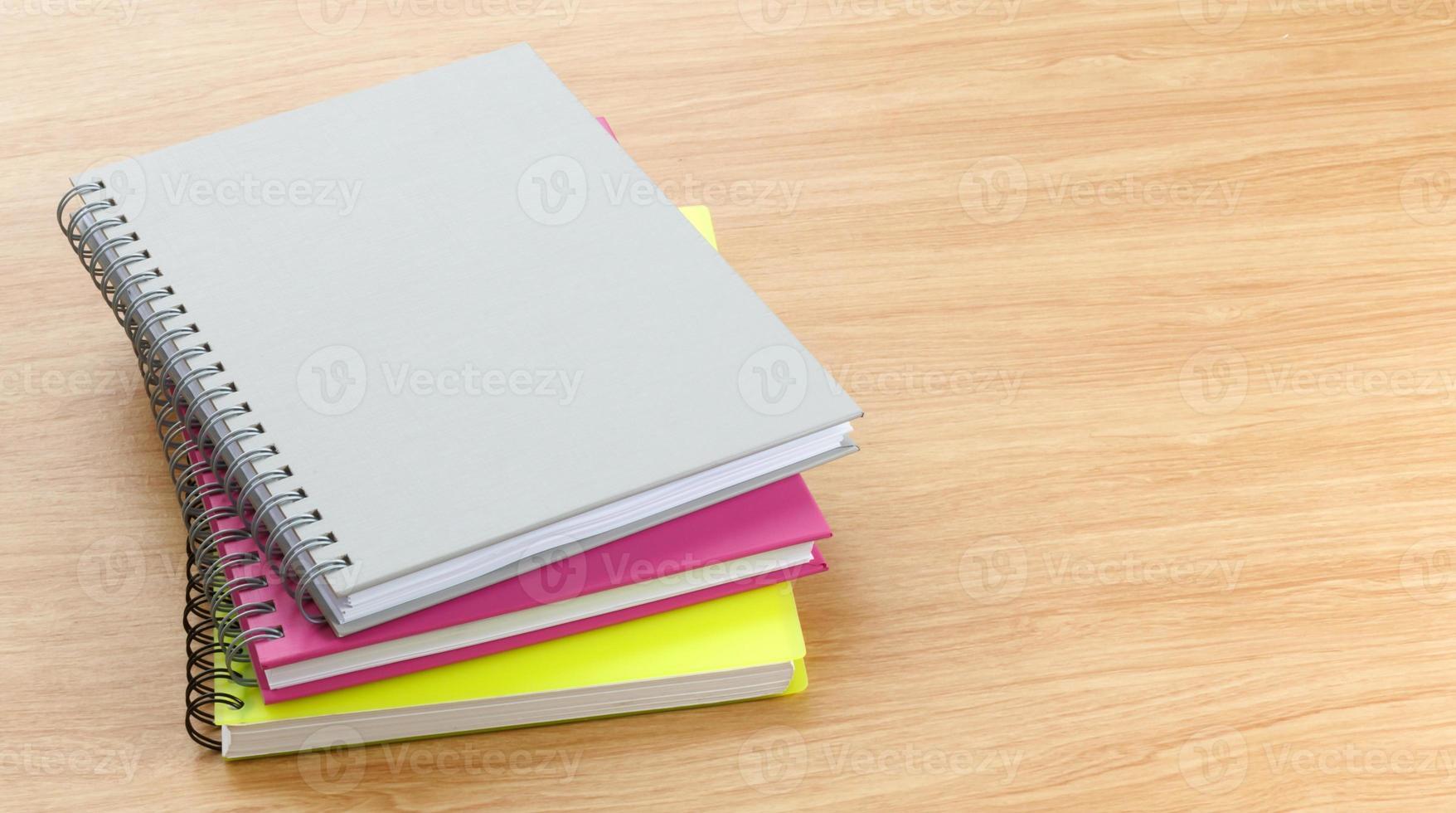 colorido hermoso de noteboook foto