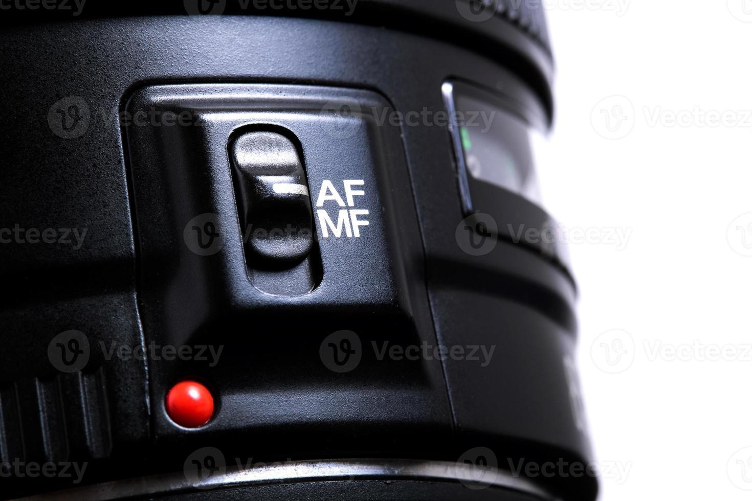 lente de la cámara foto