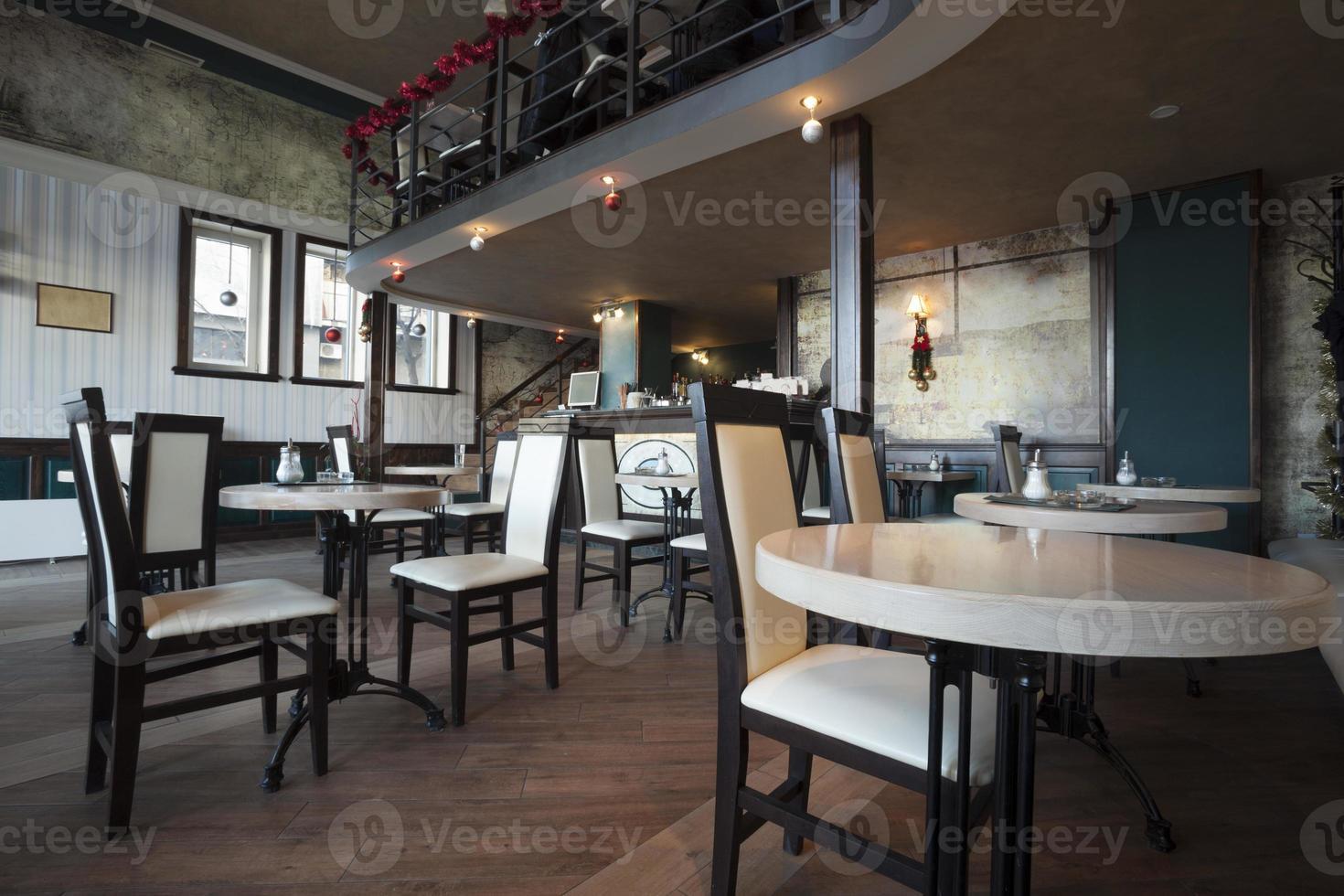 restaurante cafe interior foto