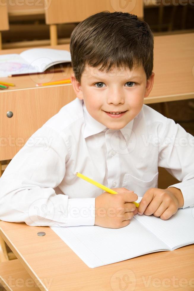 alumno diligente foto