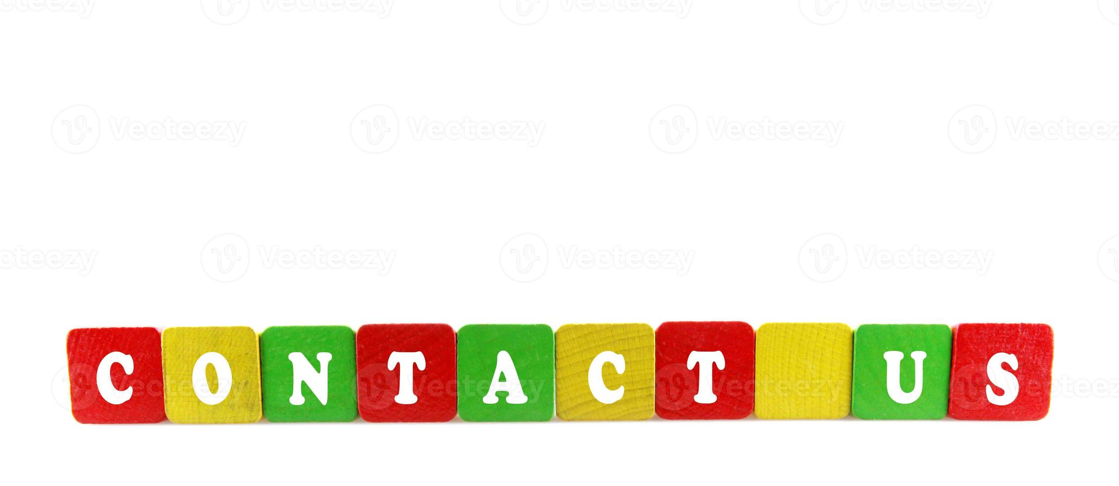 contact us concept photo