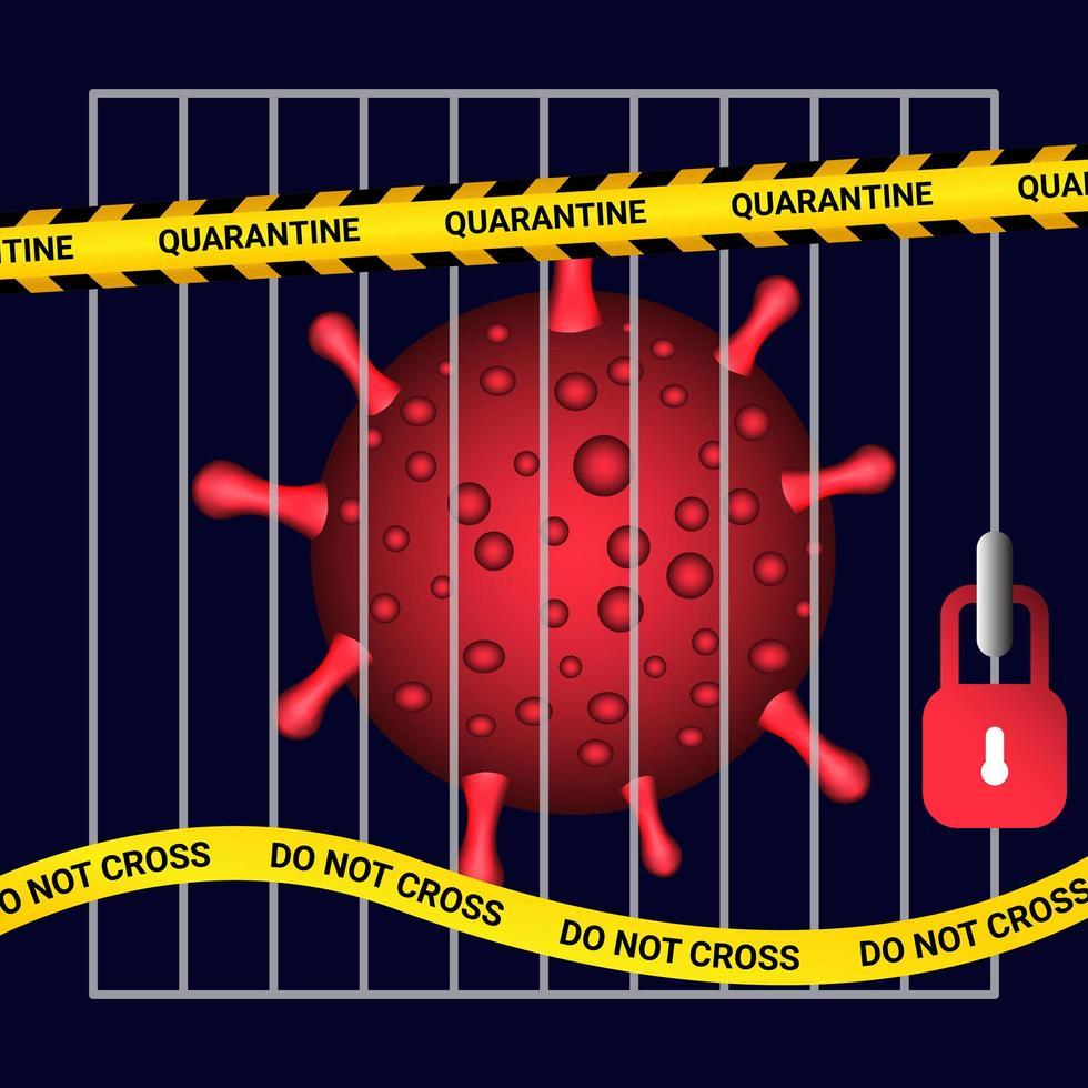 quarentena secreta-19 atrás das grades da prisão - Download ...