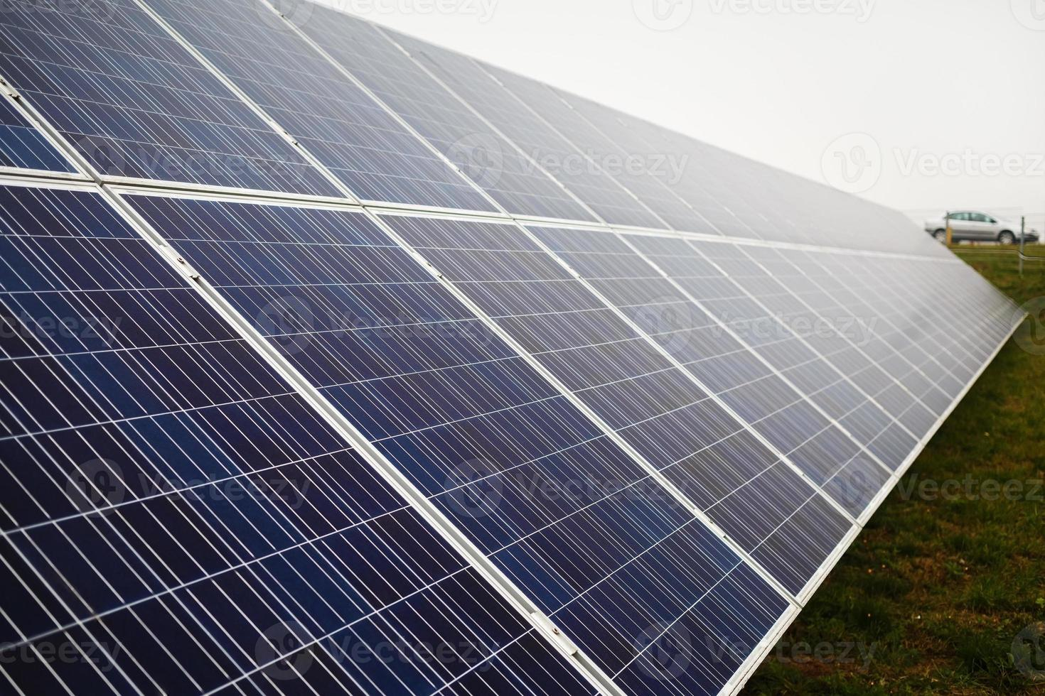 Photovoltaic solar farm photo