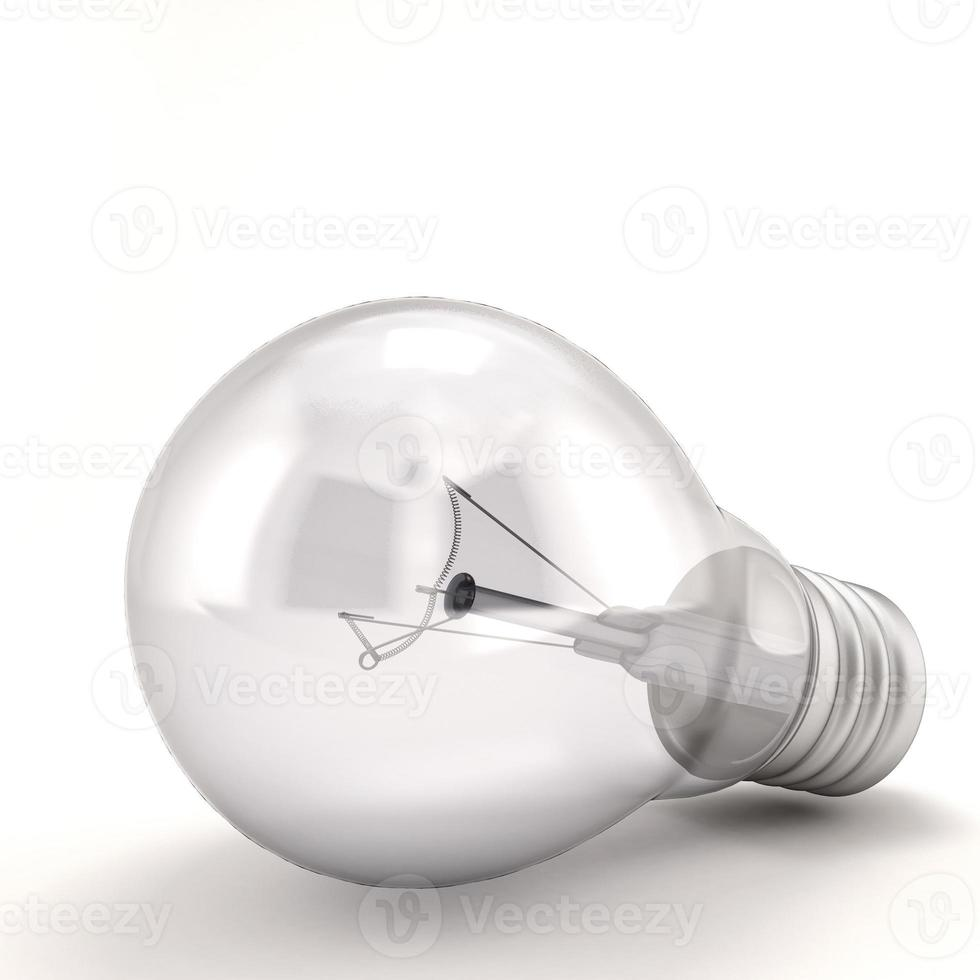 Light bulb close-up photo