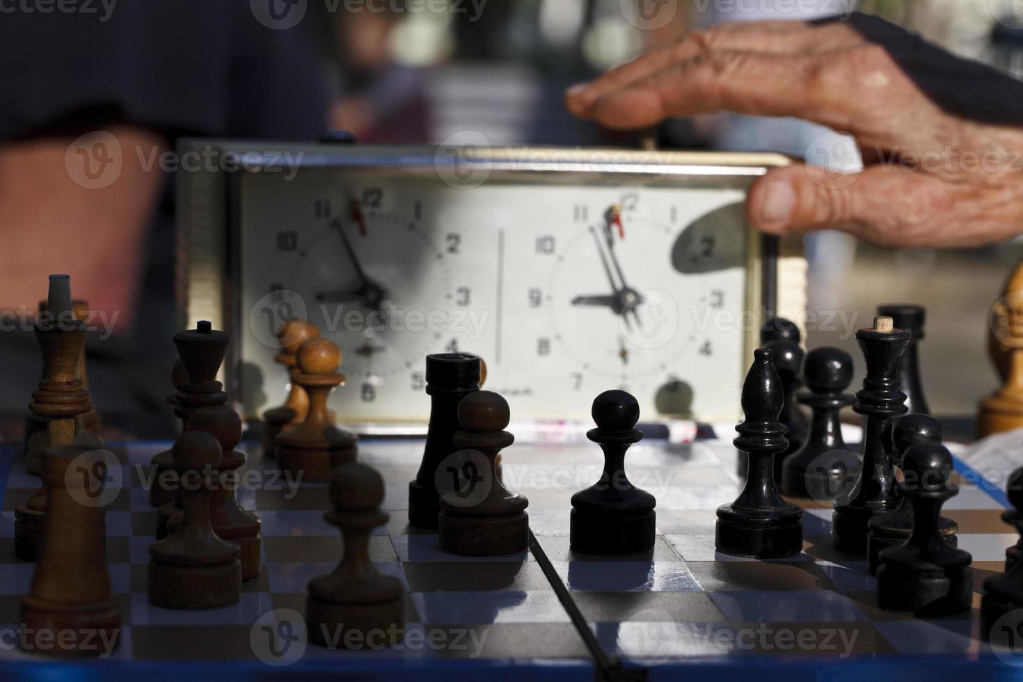 ajedrez. tiempo para jugar foto