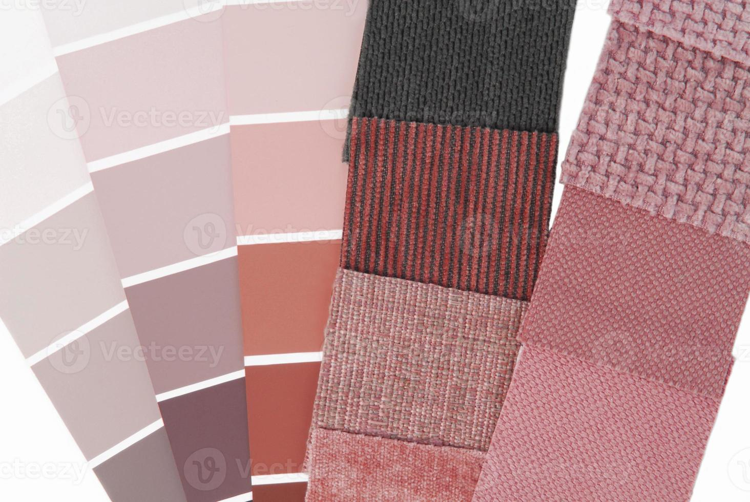 tapicería tapicería selección de colores para interior foto