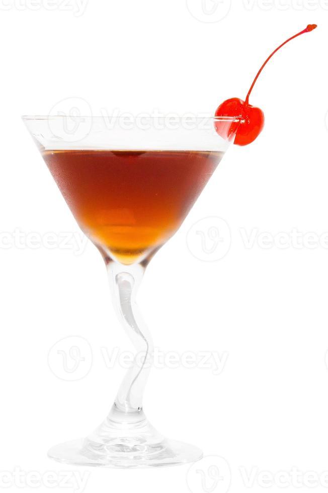 bebida de manhattan foto