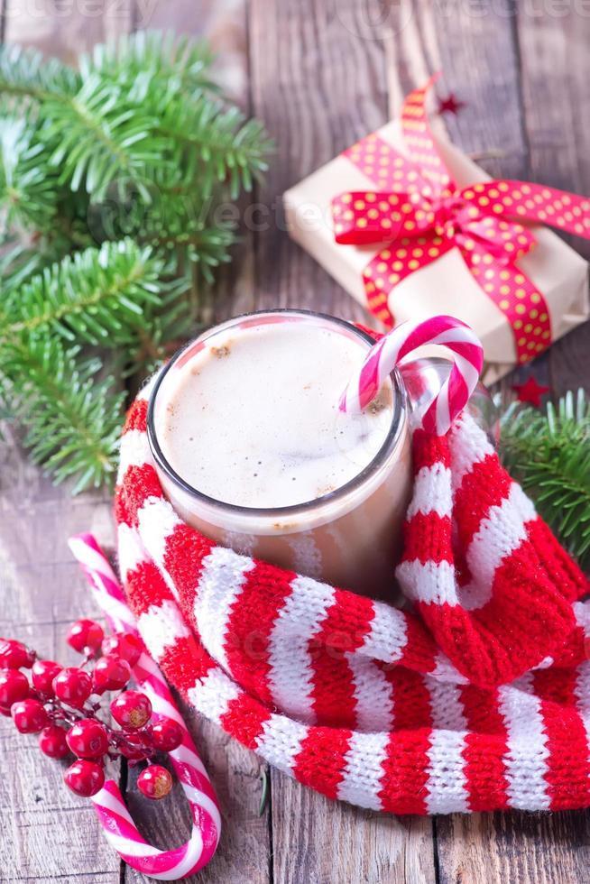 Christmas drink photo