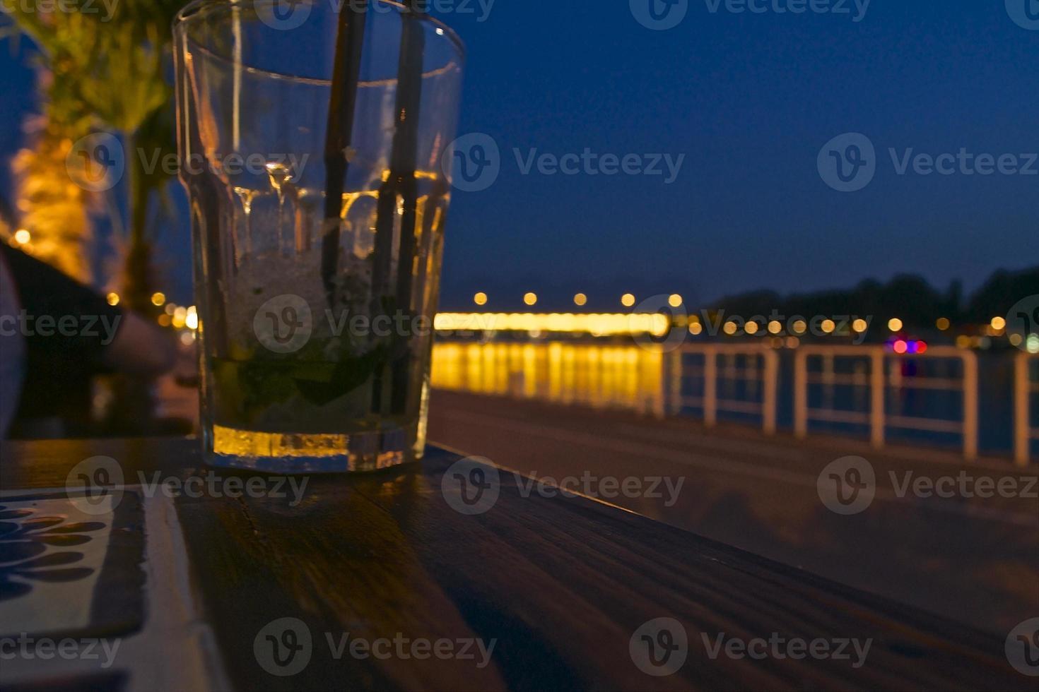 bebida de la tarde foto