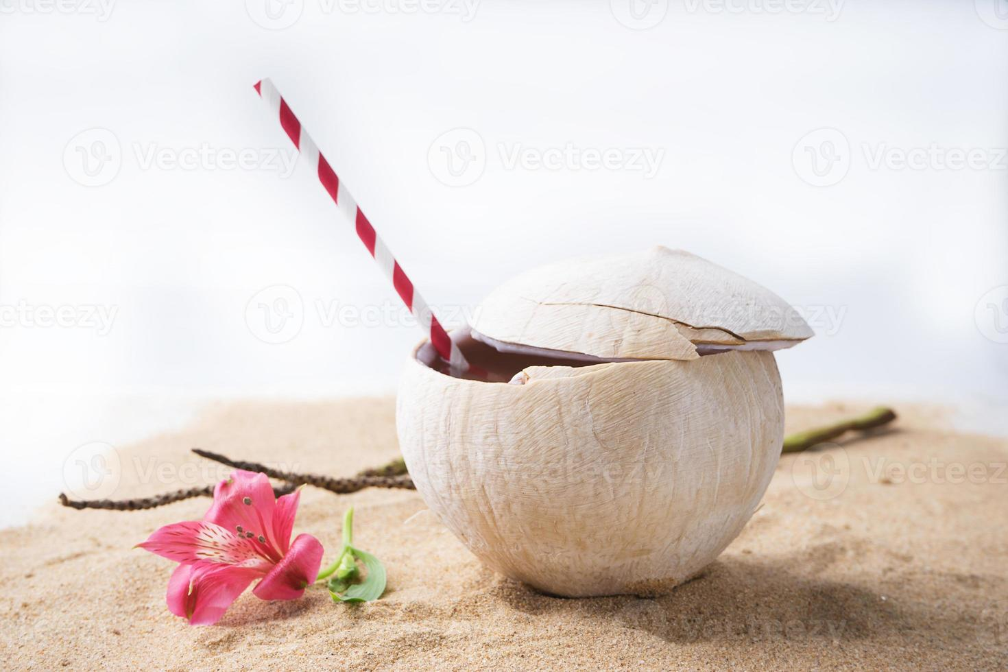 Coconut water drink photo