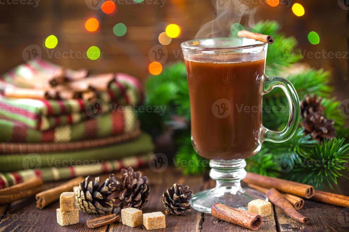 bebida de cacao foto
