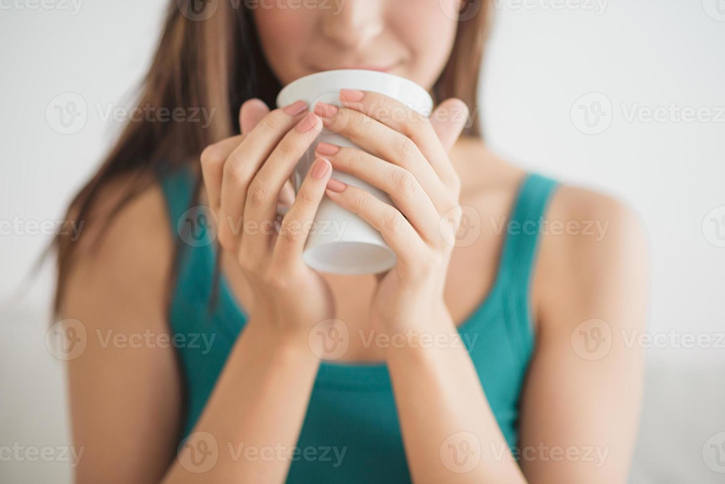 Drinking coffee photo