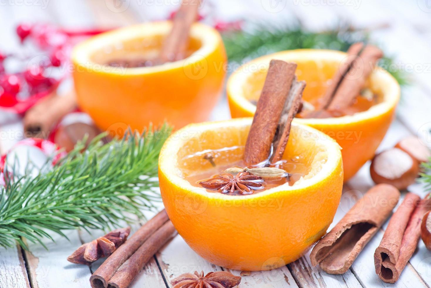 orange drink photo