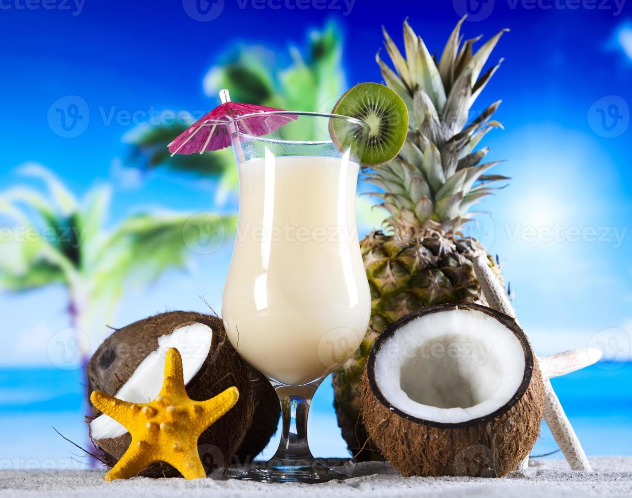 Tropical drink photo