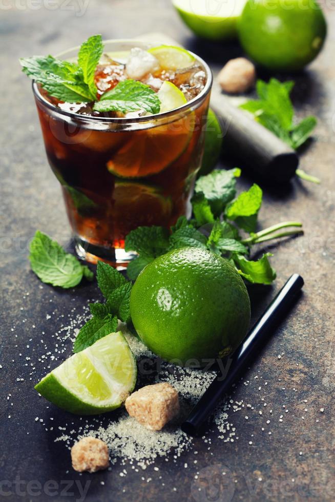bebida mojito fresca foto