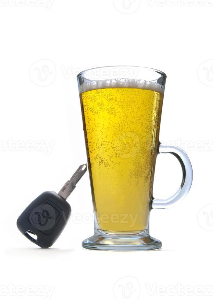 concepto de conducción de bebidas foto