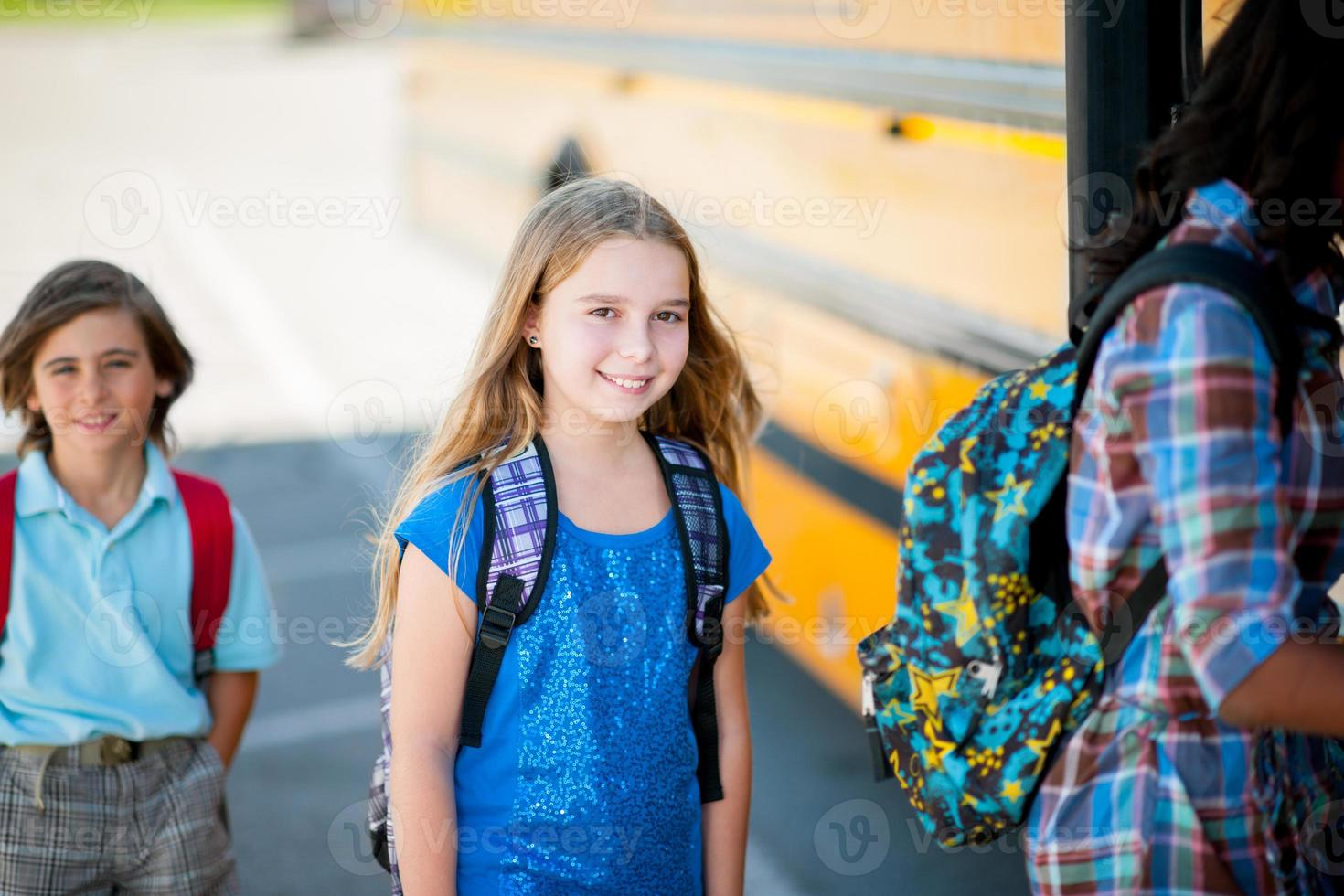 Elementary School Bus photo