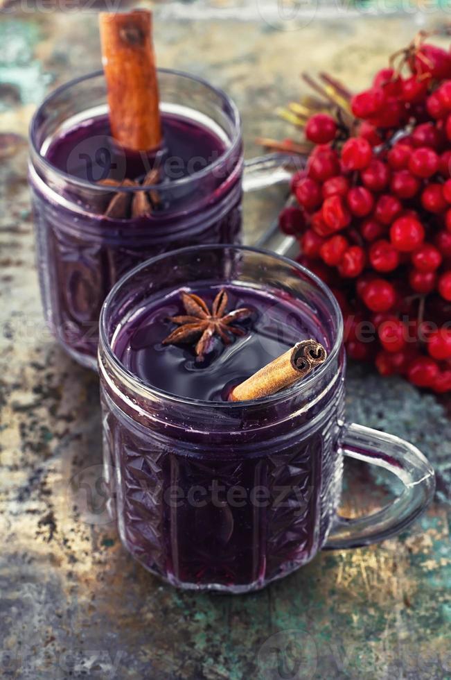 Christmas alcoholic drink photo