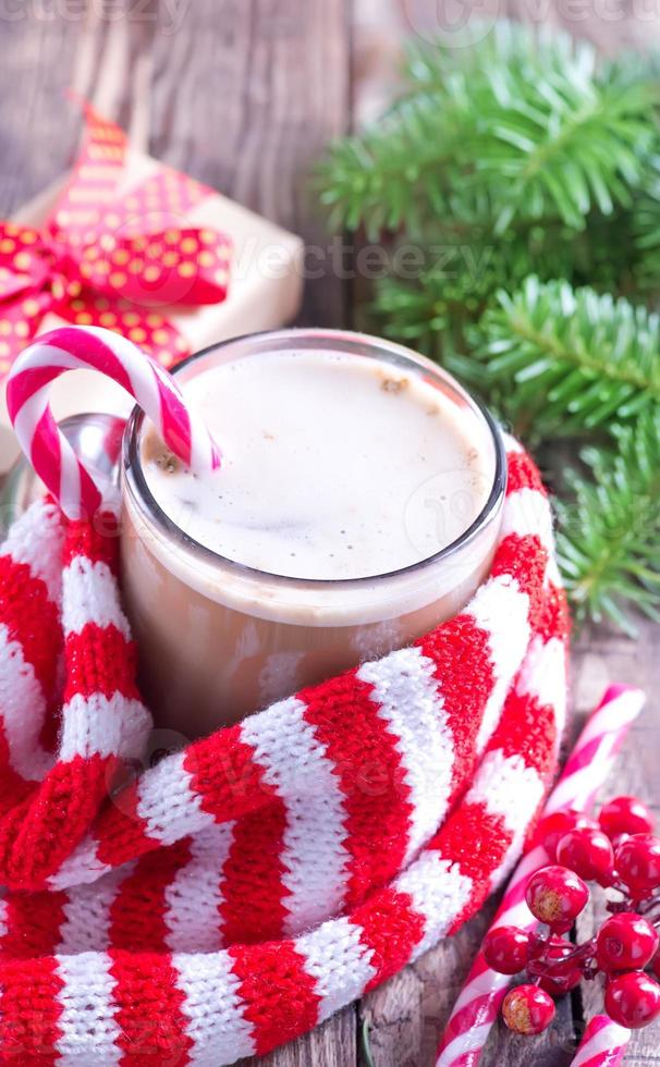 bebida de navidad foto