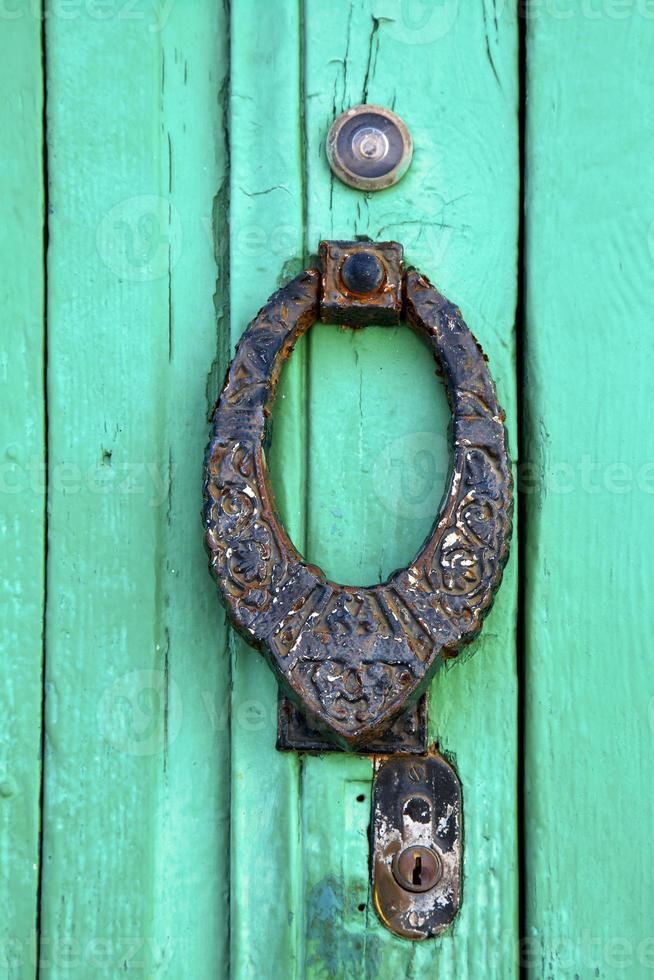 spain knocker lanzarote abstract  wood photo