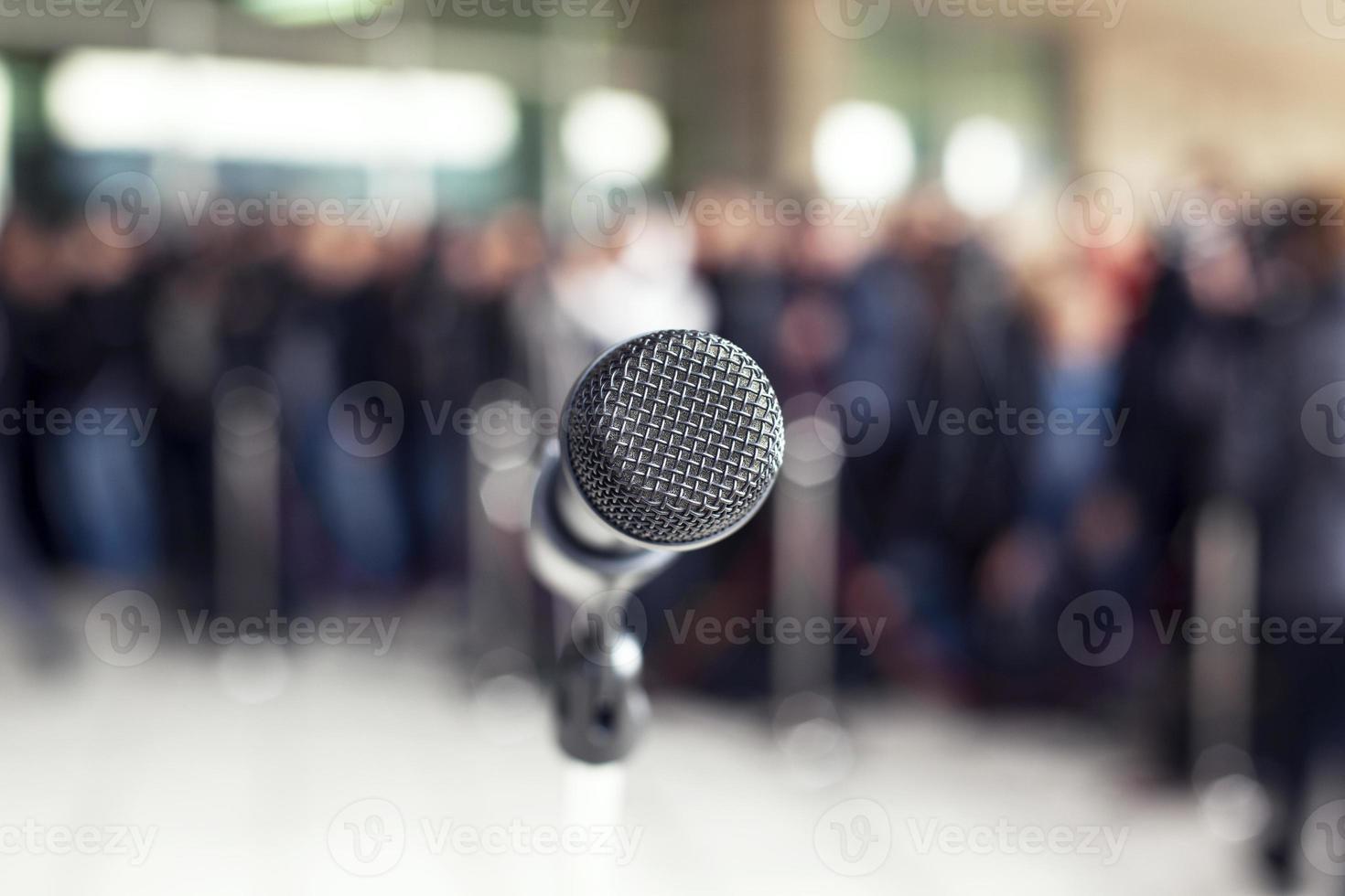 Press conference photo
