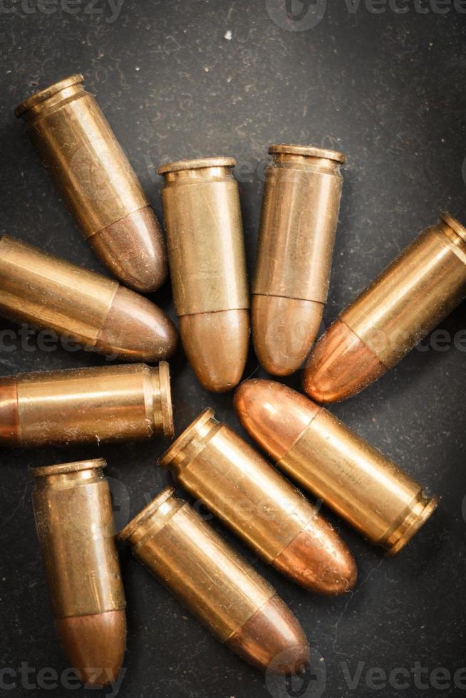 9mm bullet for a gun photo