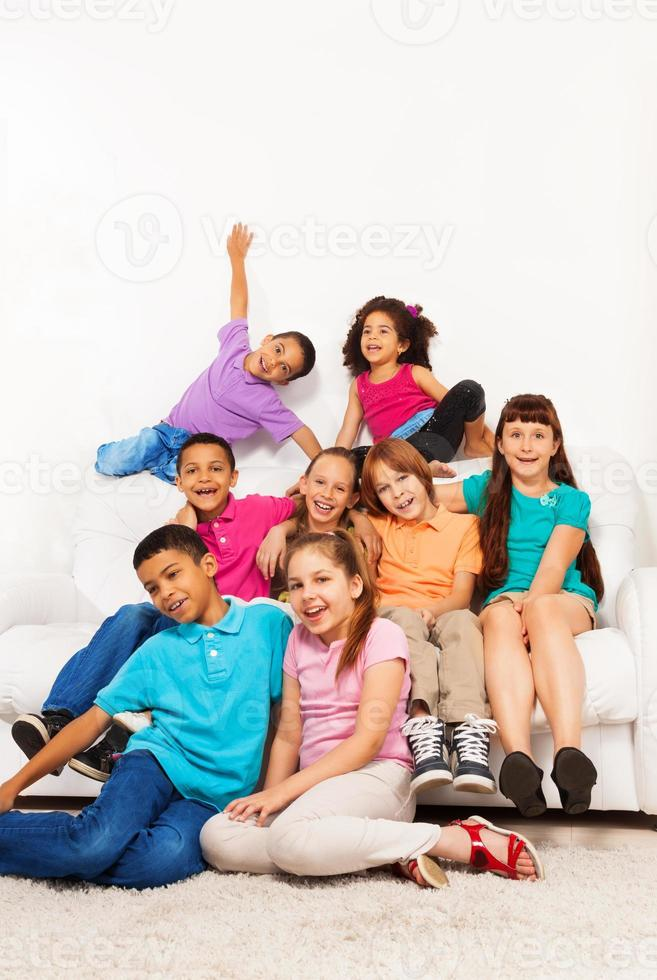 It is good when there are many friends photo