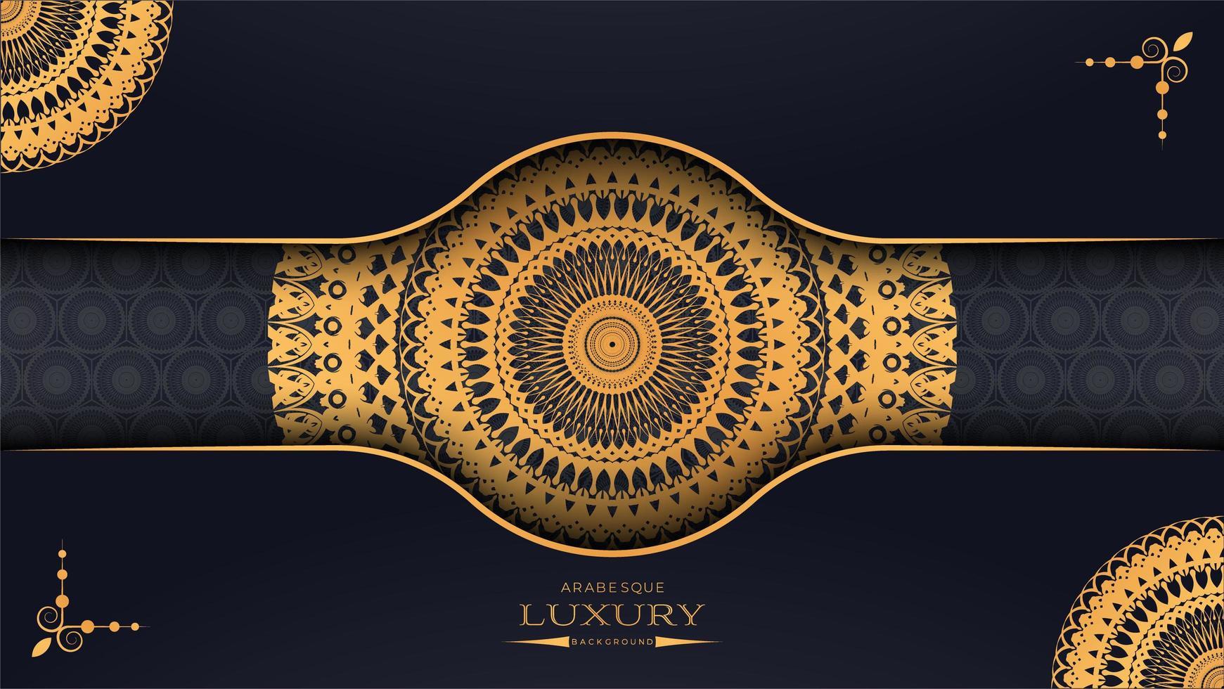 3D Luxury Mandala Paper Design vector