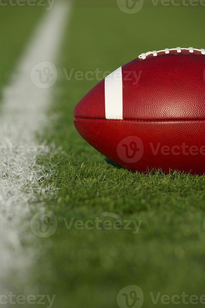 American Football near the Yard Line photo