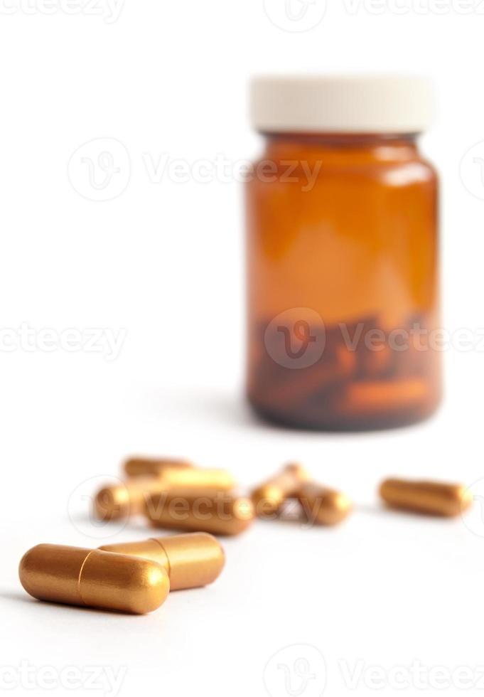 Gold pills photo